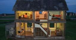 Abandoned Farmhouse Transformed Into Life Size Dollhouse