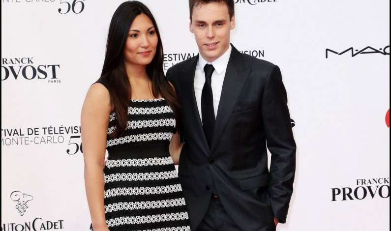 Festival de télévision de Monte-Carlo : Louis Ducruet et sa compagne Marie sur le tapis rouge
