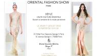 L'ORIENTAL FASHION SHOW:  la référence incontestée de la Haute Couture Orientale