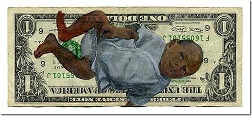 Baby Dollar Bill
