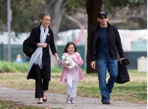 Christine Taylor with Family
