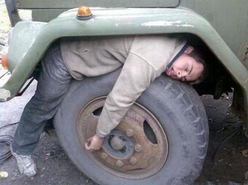 Funny Sleeping Positions 01