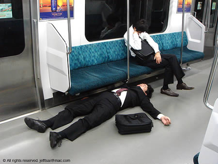 Funny Sleeping Positions 10