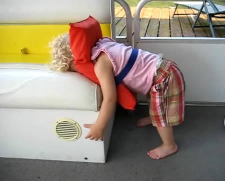 Funny Sleeping Positions 12