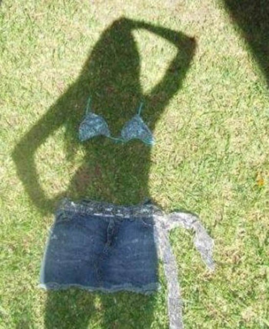 Girl Shadow illusion