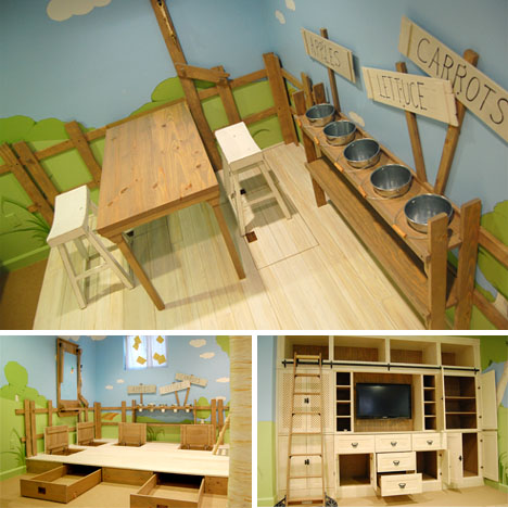 Kids bedroom Indoor Tree House