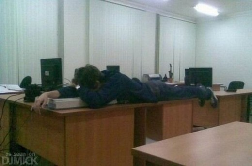 Sleeping at Work