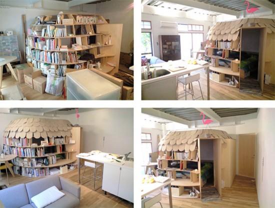 Uroko Bookcase Idea