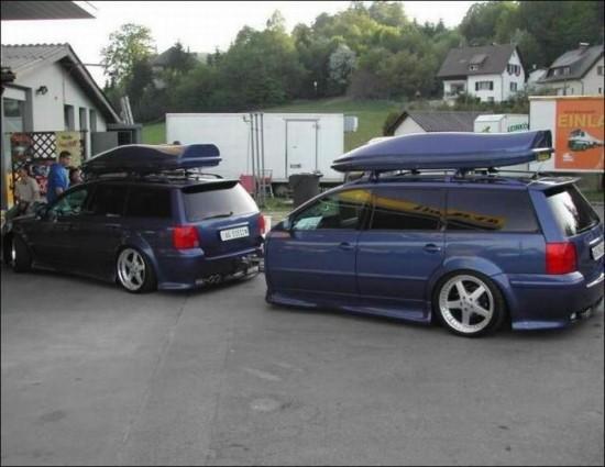 Odd cars