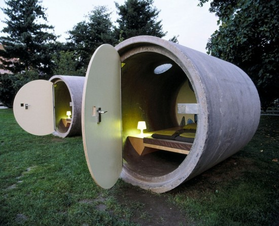 Sewage Pipes Hotel