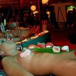 Sushi on Naked Bodies
