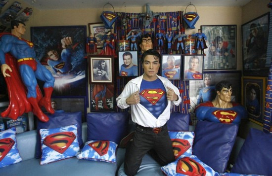 The Superhero Superman