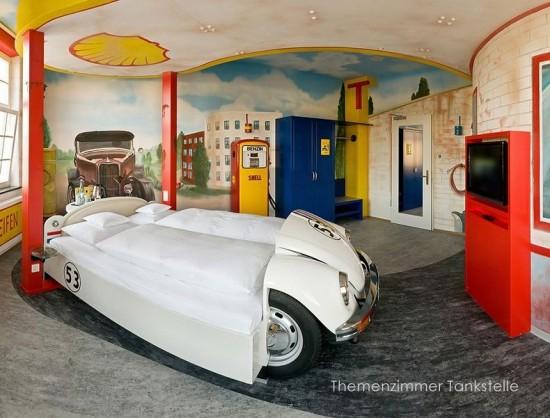 V8 Car Themed Hotel
