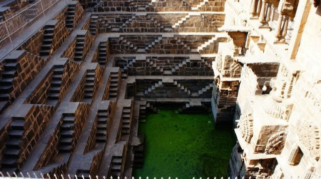 Chand Baori Step Well in Rajasthan