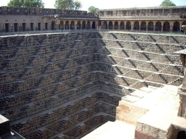 Chand Baori Step Well in Rajasthan