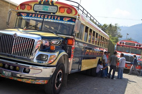 Chicken Buses of Guatemala