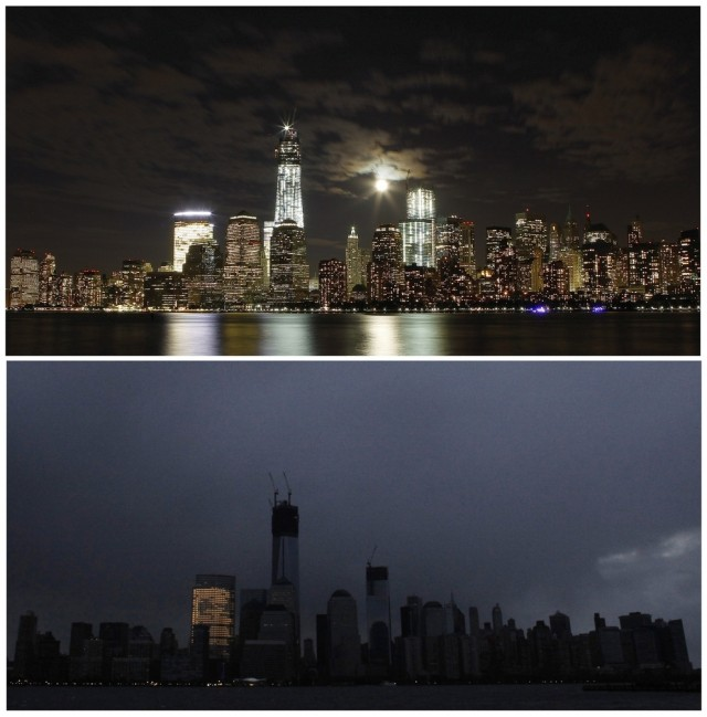 Manhattan without lights