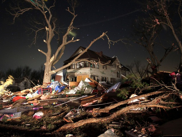 The Harveyville Kansas tornado