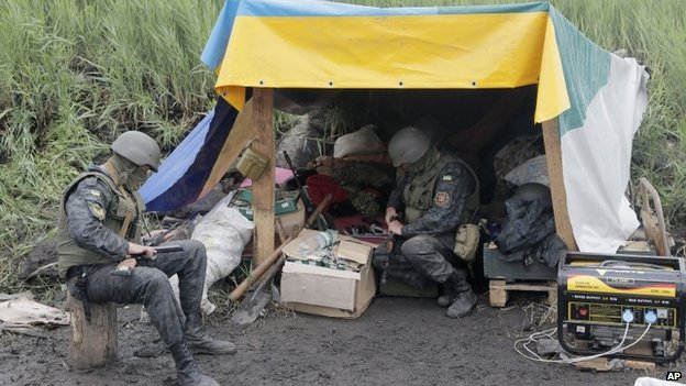 The Ukrainian army
