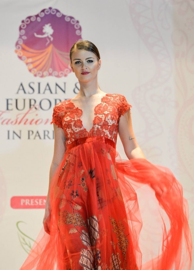 Asian & european fashion show
