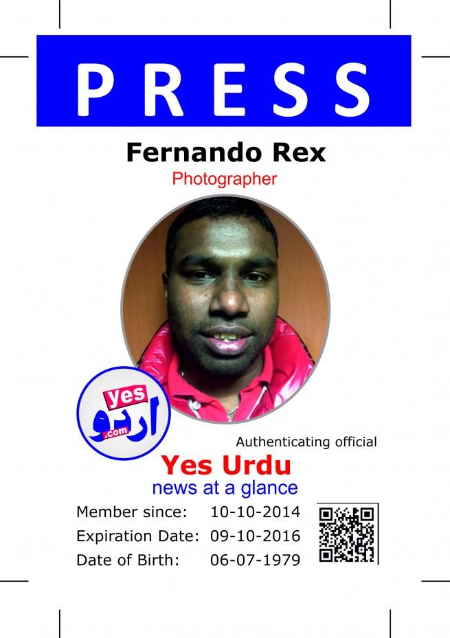 Fernando Rex- Yes Urdu
